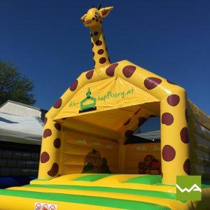 Giraffen Hüpfburg 6