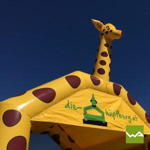 Giraffen Hüpfburg 4
