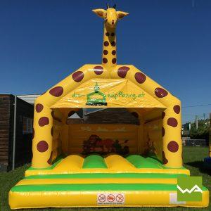 Giraffen Hüpfburg 3
