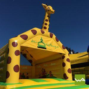 Giraffen Hüpfburg 2