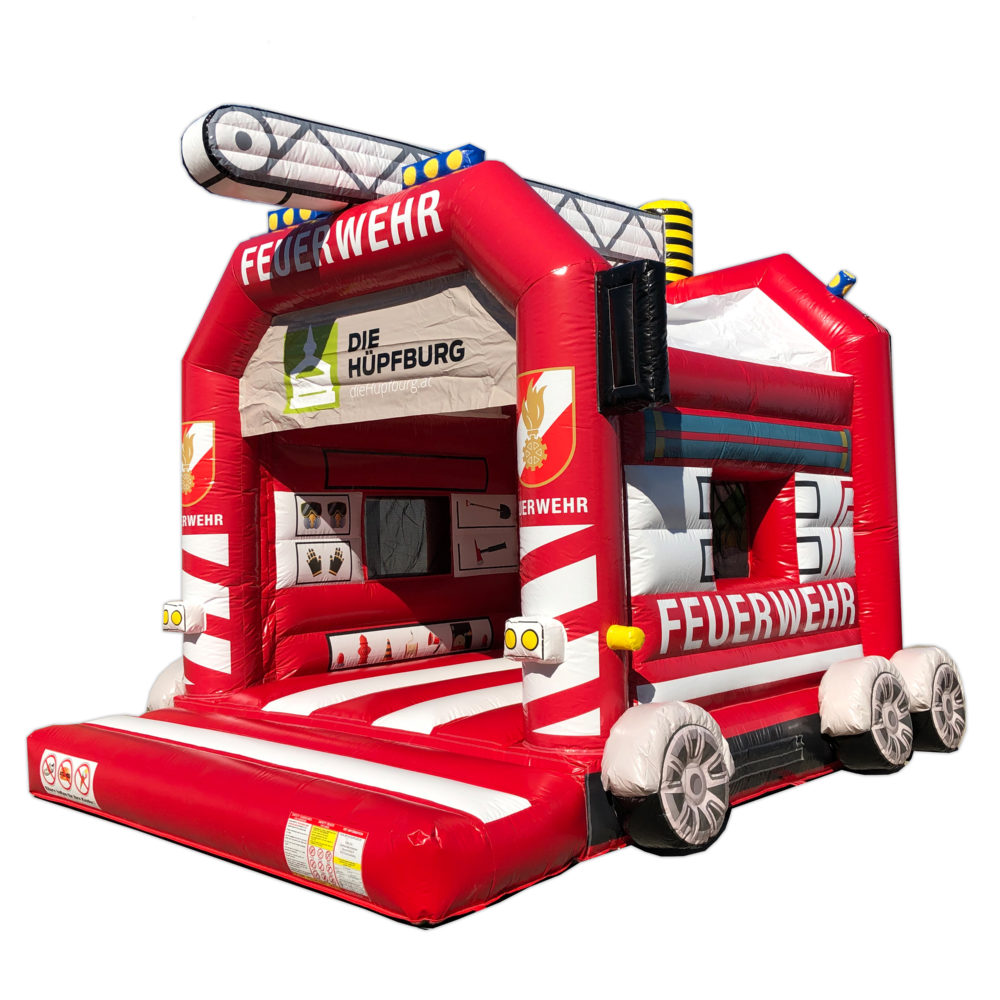 Feuerwehr Hüpfburg Titelbild